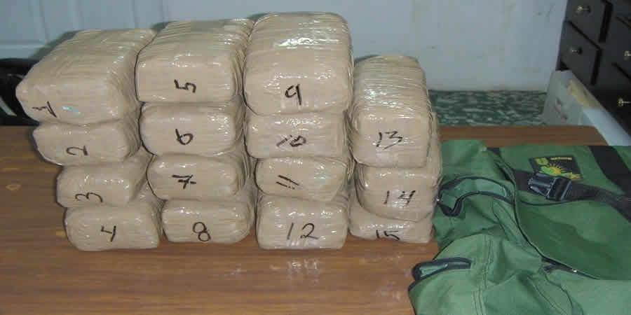 Formal prisión a persona que transportaba más de 13 kilos de marihuana