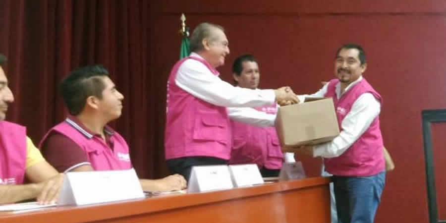 En abril y mayo llegan los primeros paquetes de material electoral
