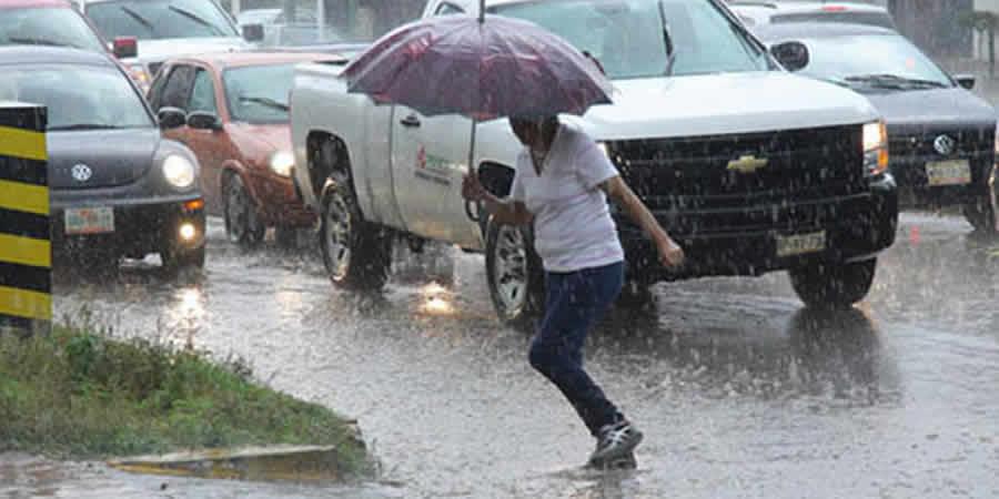 Calor, frío y lluvia, se esperan en Chiapas en próximos días