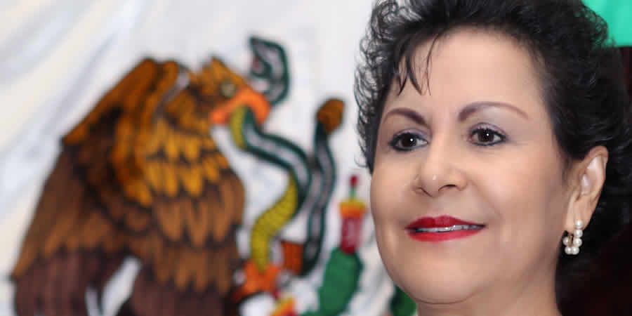 Decidida mexicanidad chiapaneca: Gloria Luna Ruiz