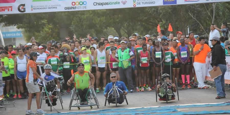 Kenya domina el Maratón Chiapas