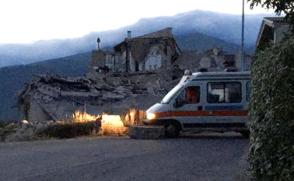 Cancillería activa números de emergencia por sismo en Italia