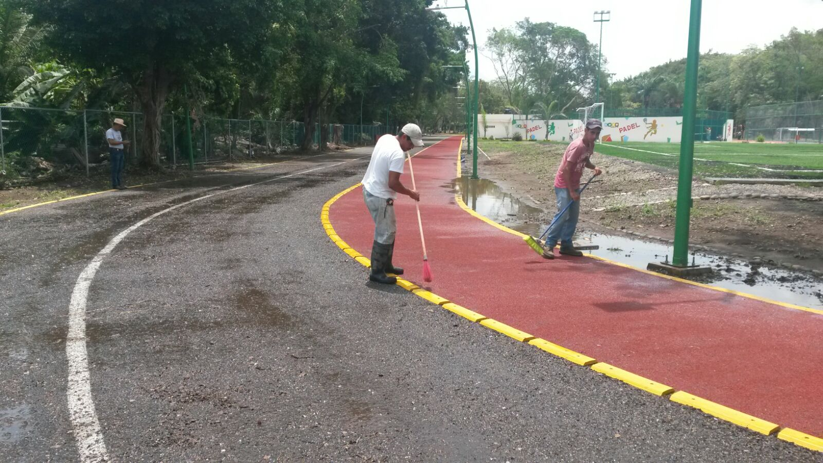 Sin afectaciones mayores Parque los Cerritos tras inundaciones en la zona