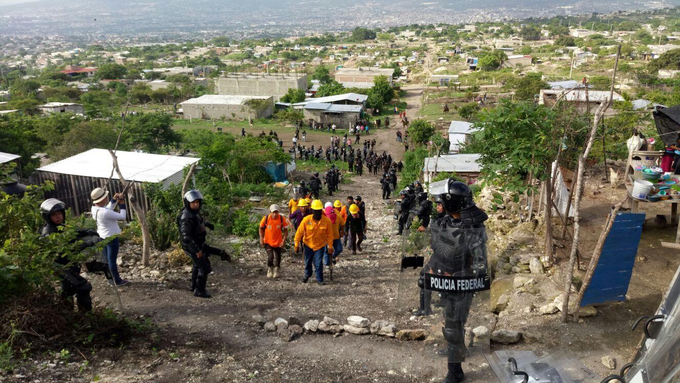 Policía Federal y CONANP apoyan a recuperar superficie invadida del Cañón del Sumidero