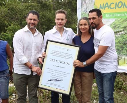 Se crean tres nuevas áreas voluntarias para la conservación en Chiapas