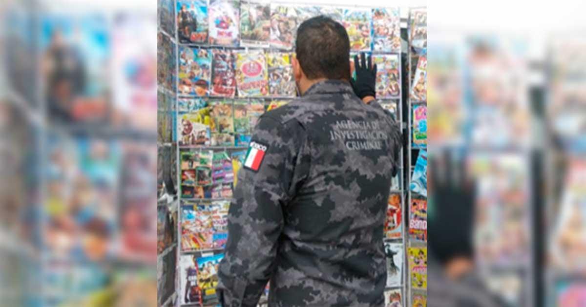 PGR asegura cuatro mil piezas de material falsificado