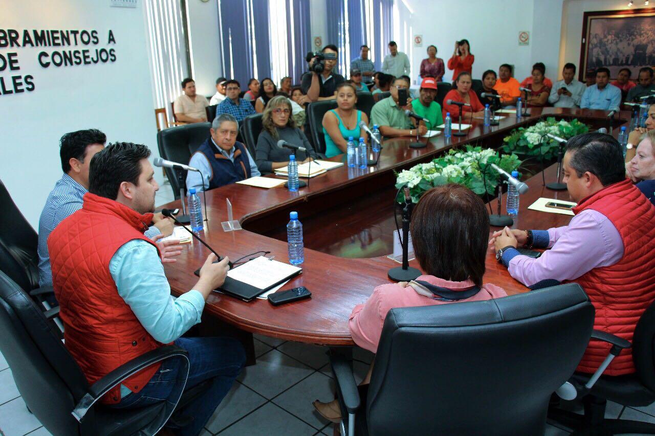 Castellanos fomenta participación ciudadana para el desarrollo de obras en beneficio de Tuxtla