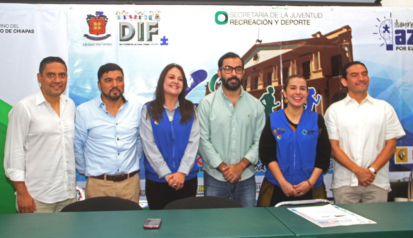 Sexto Medio Maratón de San Cristóbal se iluminará de azul