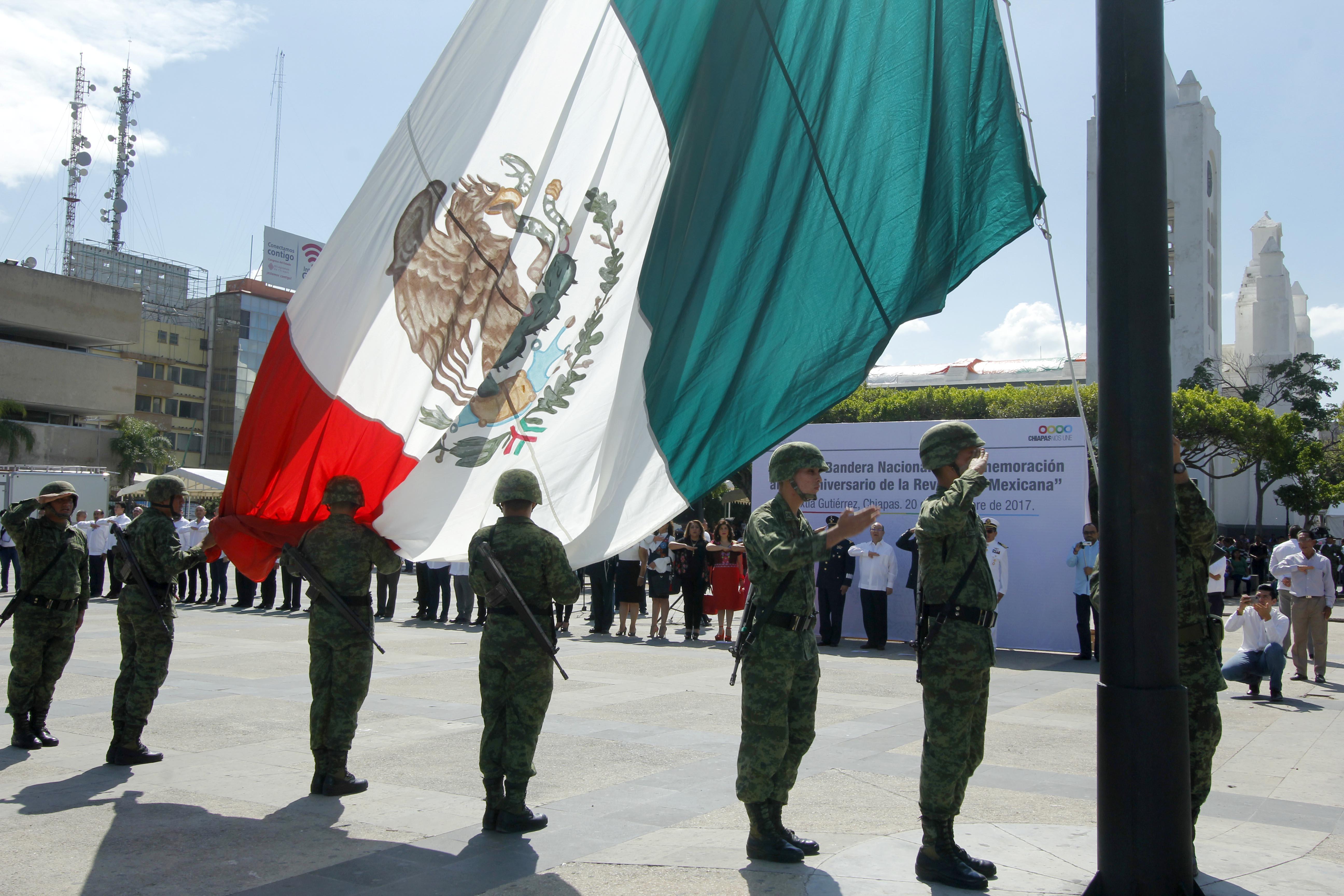 Los Chiapanecos unidos por las grandes causas de México