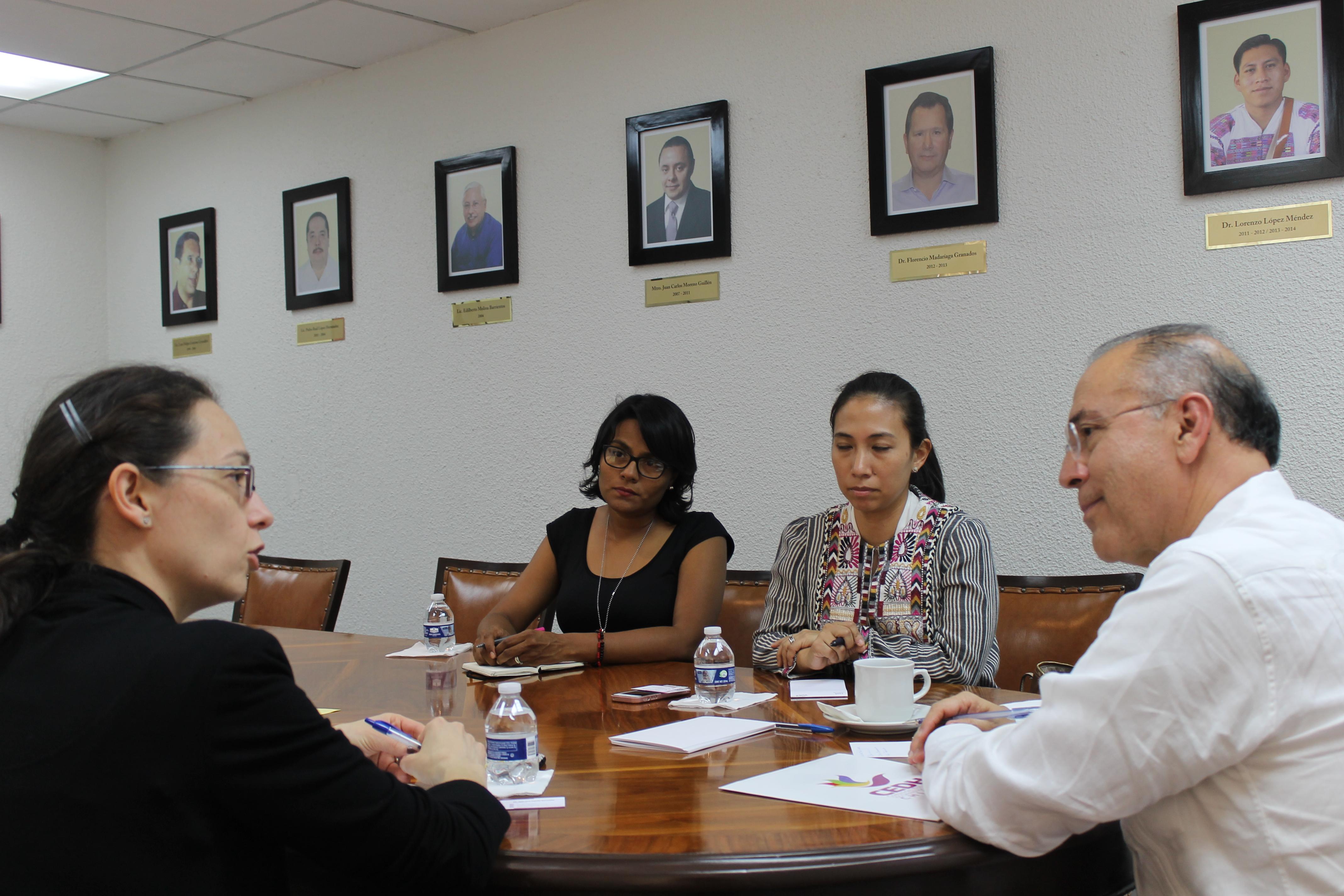 Grupo Banco Mundial y CEDH Chiapas aliados para el desarrollo progresivo de la población