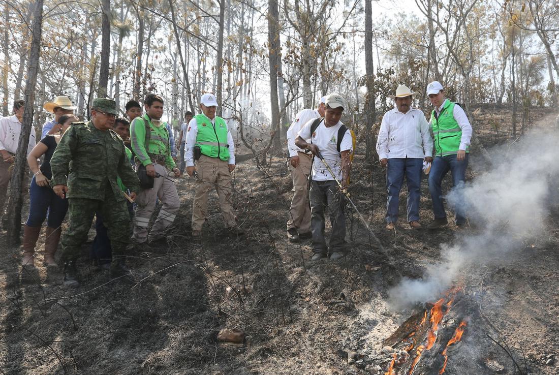 Impulsa Chiapas prevención para combatir incendios