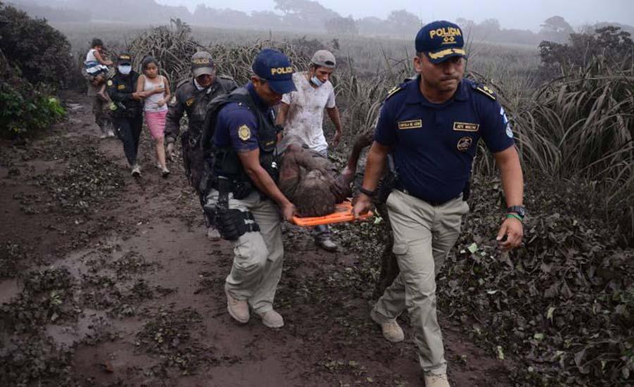 Pacientes con quemaduras graves de Guatemala a la Ciudad de México