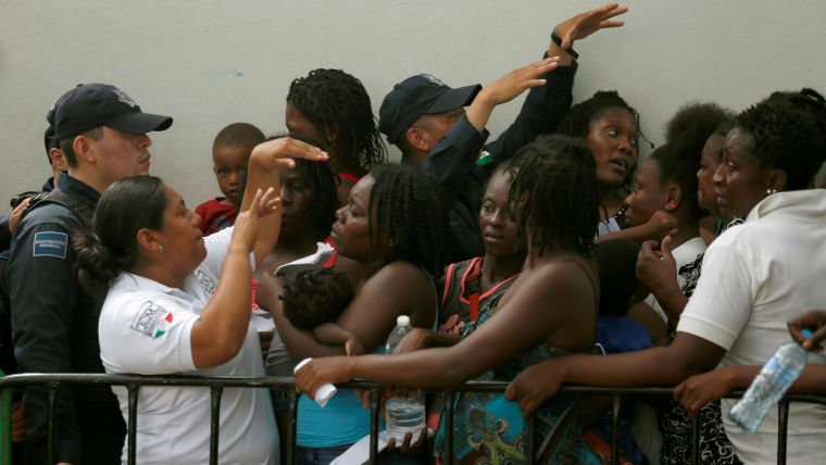 La cifra de africanos que ingresaron a México se triplicó en los primeros cuatro meses de 2019