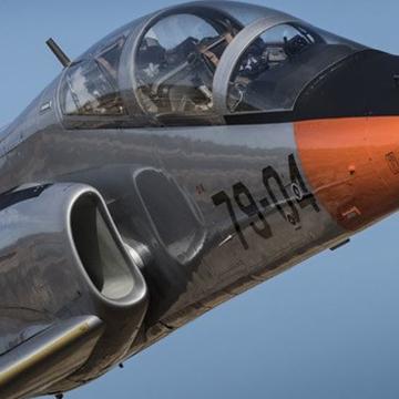 Avión de la Fuerza Aérea española se estrella en el mar