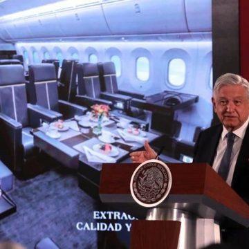 """Haremos una """"mañanera"""" en el avión presidencial AMLO"""