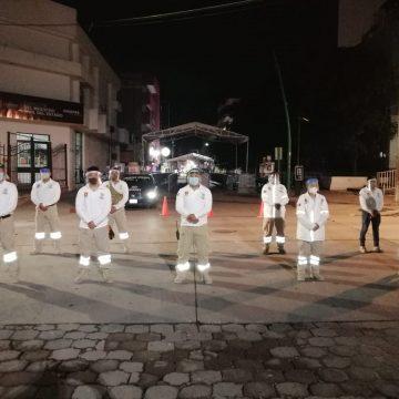 Continuarán los filtros sanitarios en el centro de Tuxtla Gutiérrez