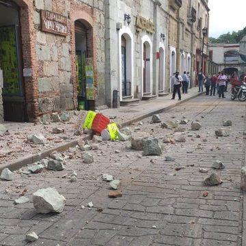 Seis muertos y varios heridos en Oaxaca por el sismo de 7.5