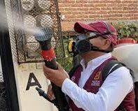 60 por ciento de avance en el proceso de fumigación de Tuxtla Gutiérrez
