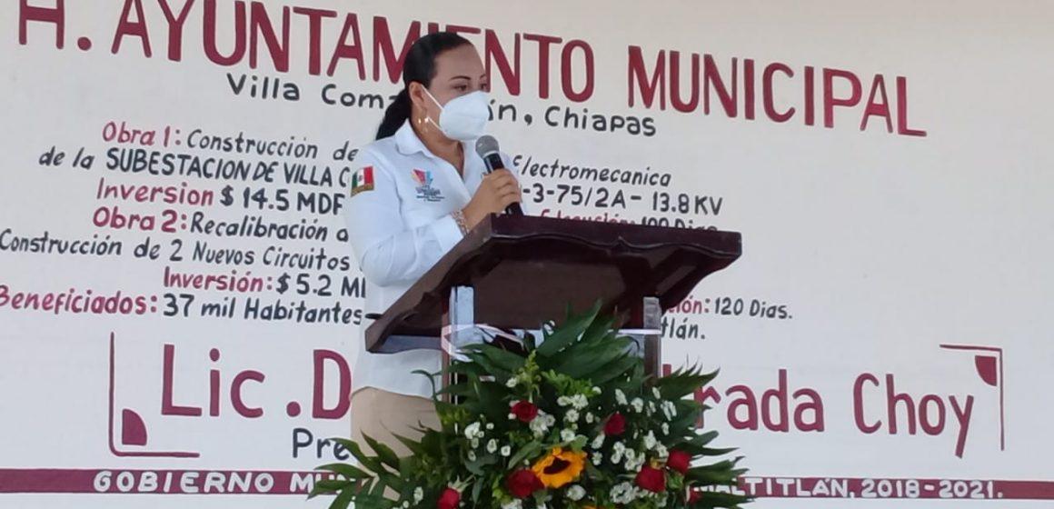 Villa Comaltitlán contará con su propia Subestación eléctrica