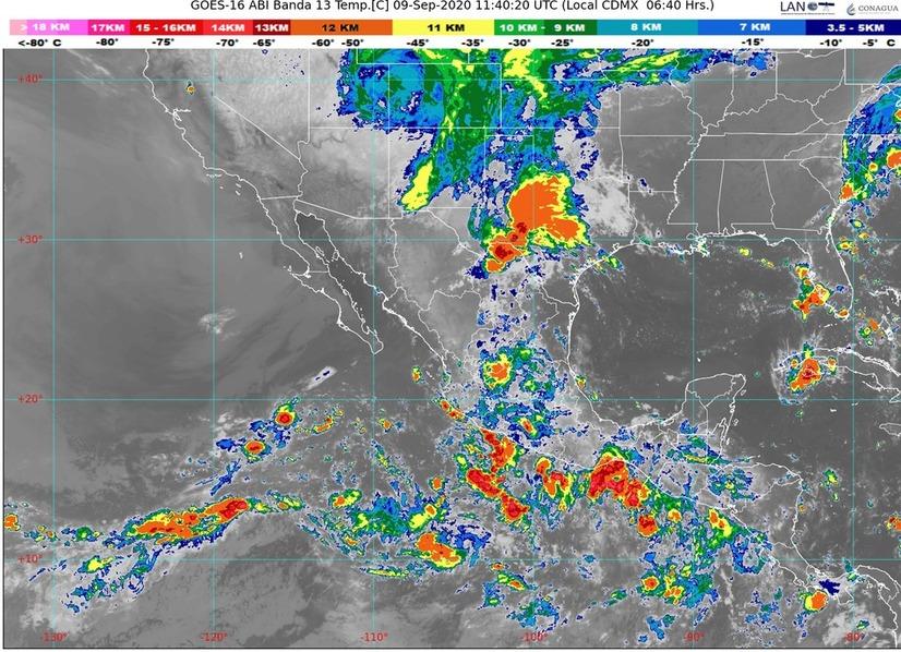 Se pronostican lluvias muy fuertes en Chiapas