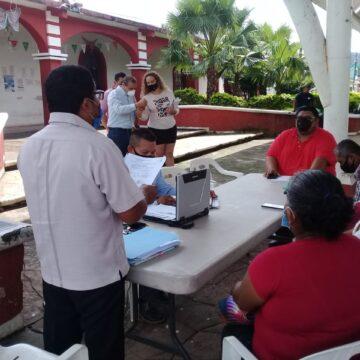 En sesión de Cabildo Síndico y Regidores de Huehuetán piden la separación del cargo de la presidenta municipal