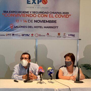 Realizan primera Expo Higiene y Seguridad Chiapas 2020