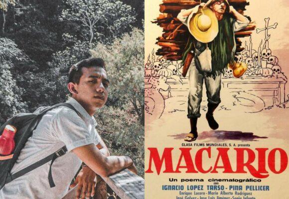 Jóven chiapaneco coloriza completa la película de Macario en cinco meses