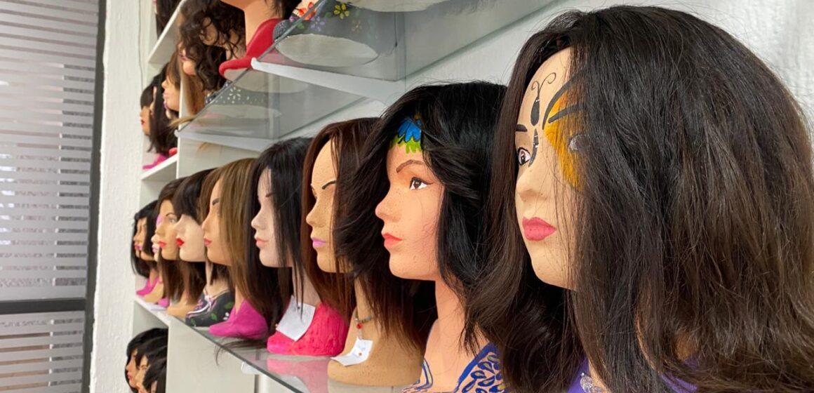 Participa PJE en taller de elaboración de pelucas oncológicas artesanales, en el marco del Día internacional de la lucha contra el cáncer de mama.