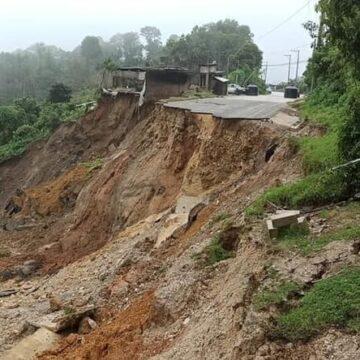 Estas son las afectaciones tras el paso de Eta y el frente frío número 11 en Chiapas