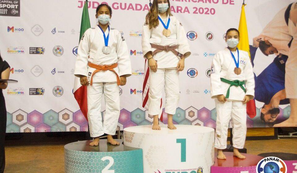 Obtiene medalla de plata la judoca chiapaneca Ariana de la Cruz