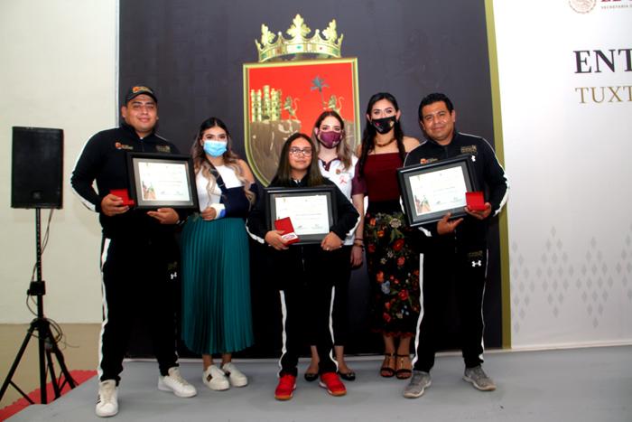 Indeporte reconoce talento y esfuerzo de la y los ganadores del PED 2020