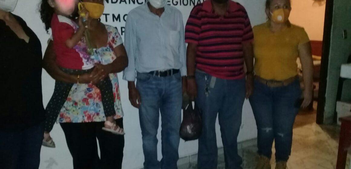 Aseguran a pareja, señalada de sustraer a una menor de edad en Pijijiapan