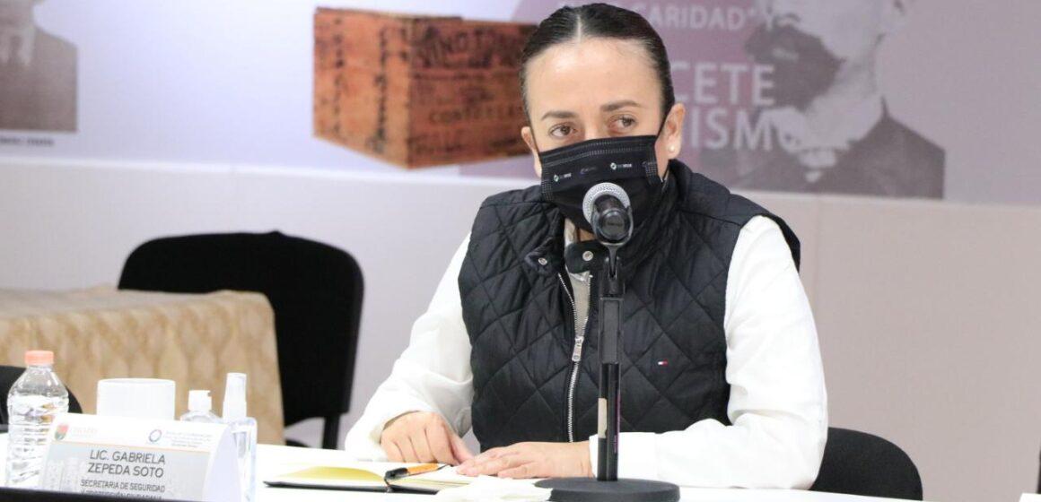 Estrategias de seguridad generan confianza ciudadana en Chiapas: Zepeda Soto