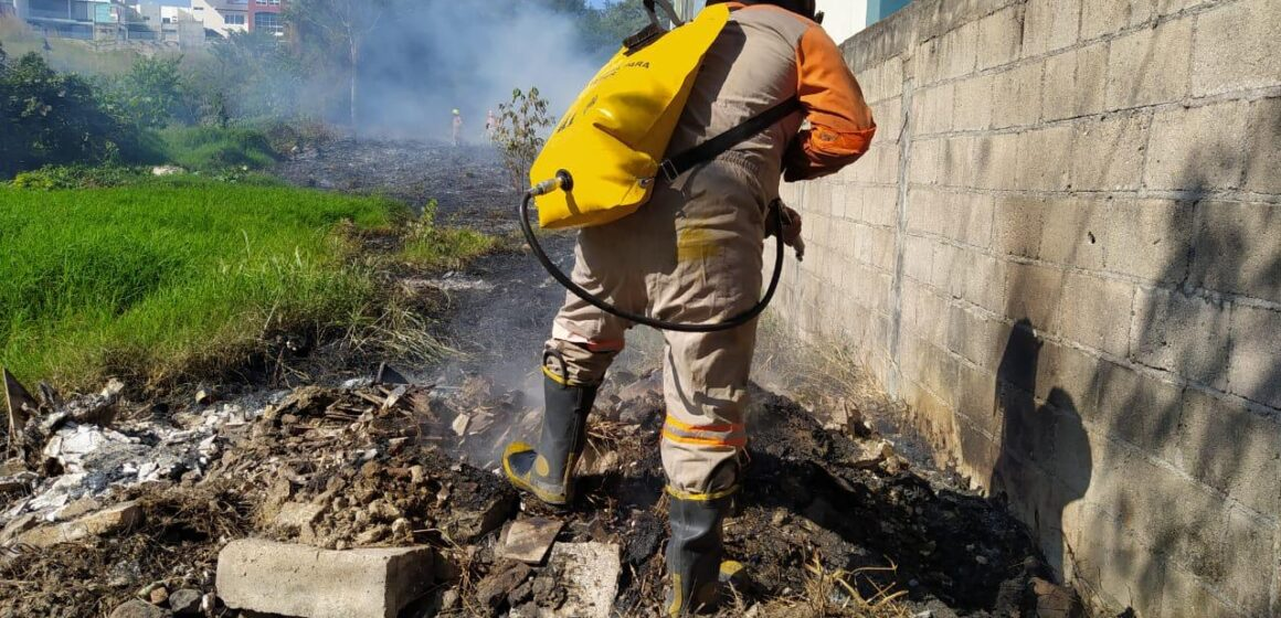 Autoridades definen plan estratégico contra incendios en Tuxtla Gutiérrez