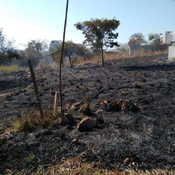 Detienen a persona que ocasionó incendio en Loma Bonita