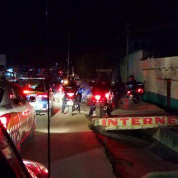 Autoridades resguardan la colonia Ojo de Agua en San Cristóbal de Las Casas tras sucesos violentos