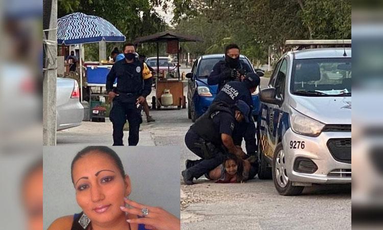 Ejercen acción penal por feminicidio contra policías que sometieron a Victoria
