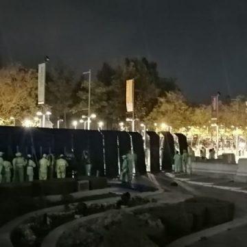 """Gobierno de la CDMX inicia """"blindaje"""" del centro histórico ante marcha feminista del 8 de marzo"""