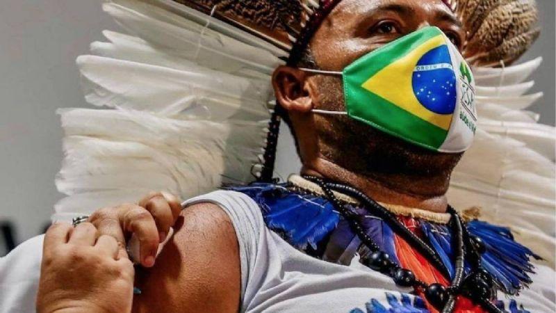 Brasil vuelve a batir récord de muertes diarias por covid-19, con casi 4 mil 200 fallecidos