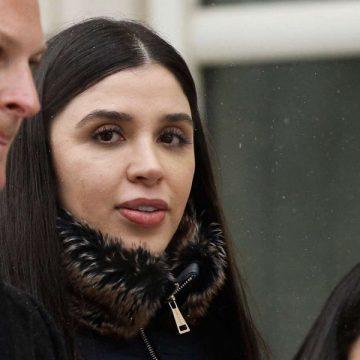 Esposa de 'El Chapo' se declara culpable de tráfico drogas