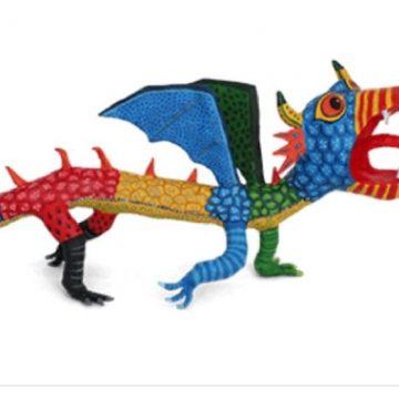 Google dedica doodle a Pedro Linares López, artista mexicano padre de alebrijes