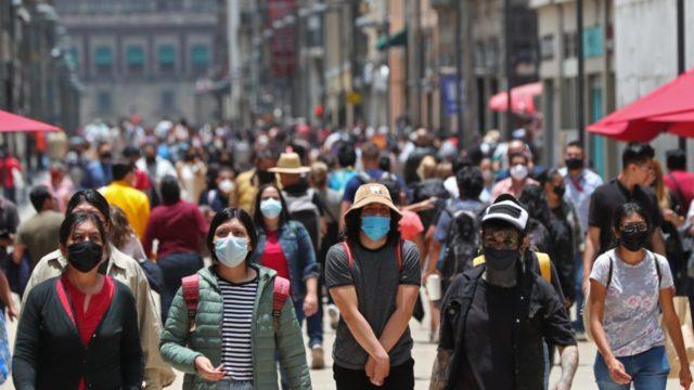 México reporta 13,853 contagios y 341 muertes por Covid-19 en las últimas 24 horas