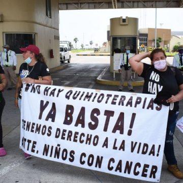Alistan marcha nacional por desabasto de medicinas contra el cáncer