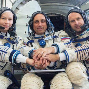 Autorizan la filmación de la primera película en el espacio
