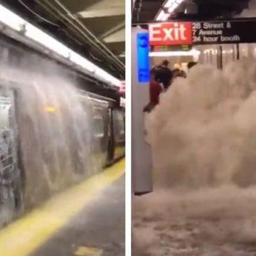 """Declaran a Nueva York en estado de emergencia por """"brutales inundaciones"""""""