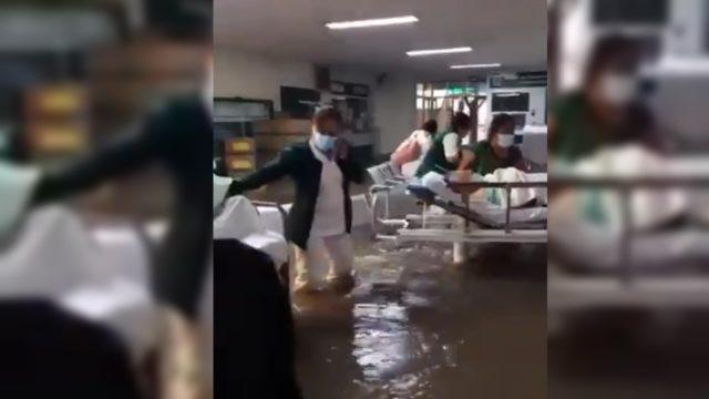 Se eleva el saldo mortal por la inundación del hospital general de Tula, Hidalgo