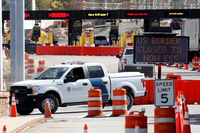EE.UU. anuncia dos fases en el plan de reapertura de la frontera con México