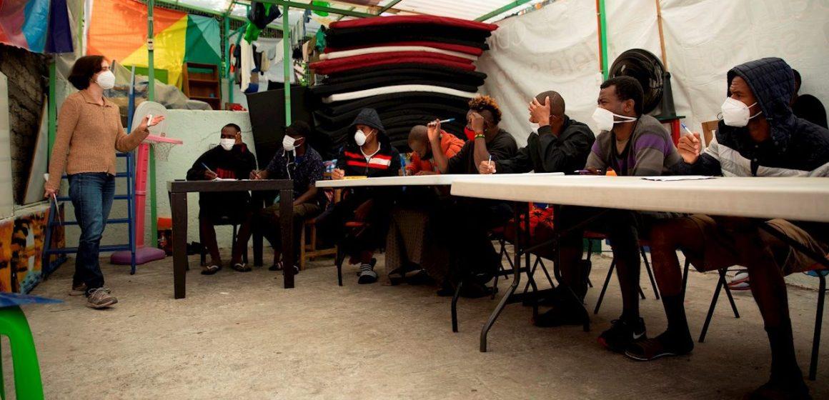 Crisis de migrantes haitianos pone al límite albergues en la CDMX