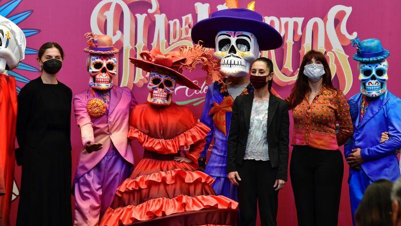 Anuncian Desfile Internacional de Día de Muertos en la CDMX; prevén 3.5 millones de asistentes