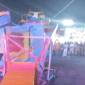 Cae un juego mecánico en Expo de Guadalupe, NL; hay cuatro lesionados